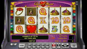 Онлайн игровой автомат Queen Of Hearts от казино Вулкан